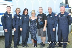 "Kelly Clarkson ""meet and greet"" pics from ""Freedomfest""@Fort Hood-7/4/12"