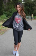Jamie Chung - at AIDS Walk in San Francisco 07/15/12