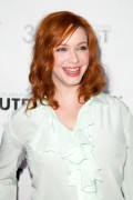 Christina Hendricks - Struck By Lightning premiere at Outfest in Hollywood 07/22/12