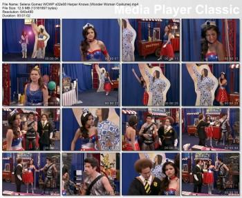 "Selena Gomez | WOWP s02e08 ""Harper Knows"" | Wonder Woman Costume"