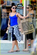Vanessa & Stella Hudgens leaving a yoga class in Studio City 9/9/12